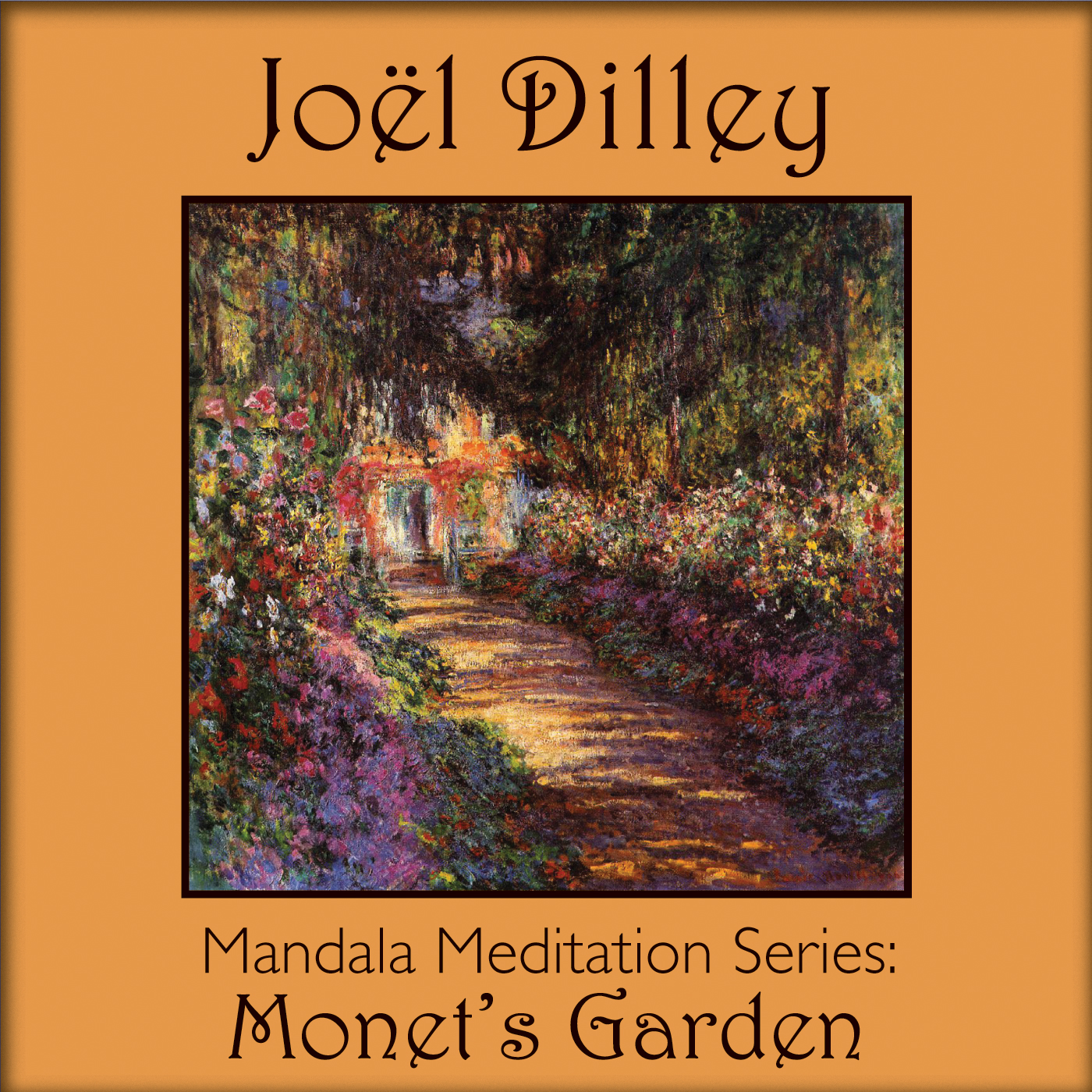 Mandala Meditation Series: Monet's Garden